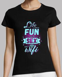 vie amusante sexe et wifi - elle