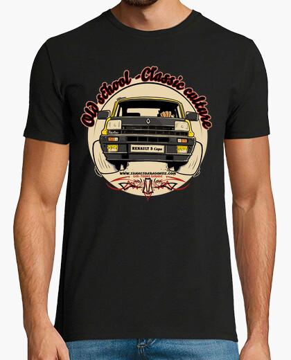 Tee-shirt vieille école-c les culture sic coupe r
