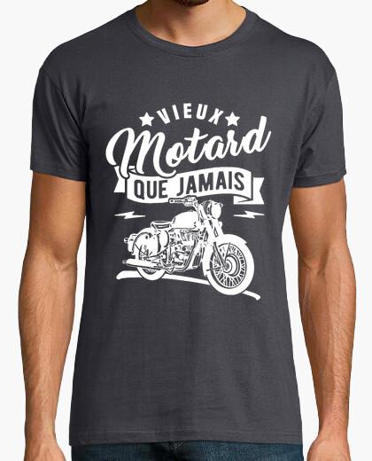 Camiseta viejo motociclista que nunca