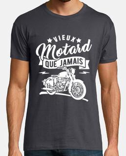 viejo motociclista que nunca