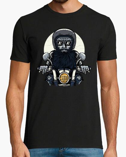 Camiseta viejo motorista