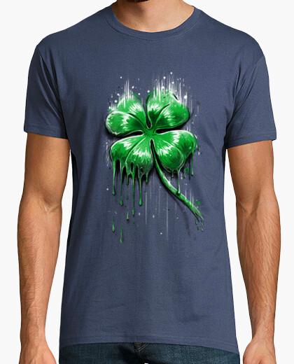 T-Shirt vierblättriges kleeblatt