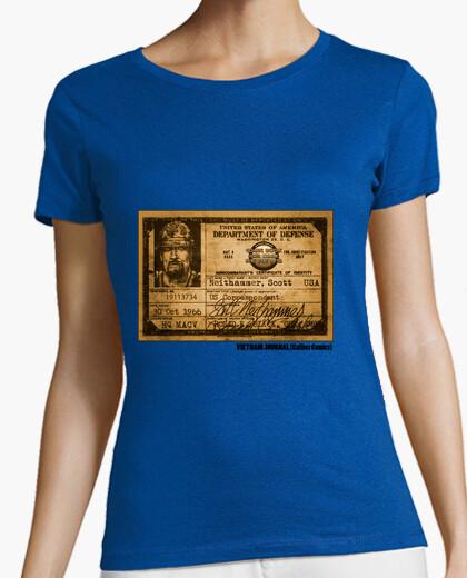 Vietnam Journal By Caliber Comics - Female t-shirt