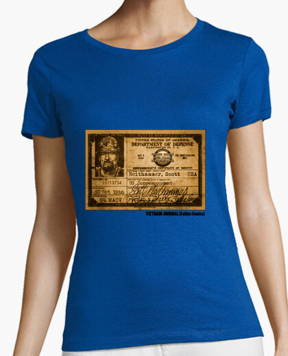 Vietnam Journal By Caliber Comics - Female t-shirt