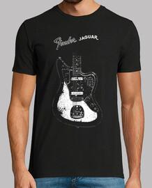 vieux garde-boue jaguar 1965-vintage-musique-érodé-rock-blues-jazz-grunge