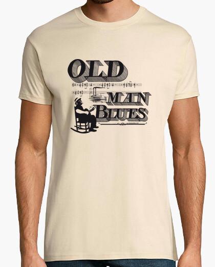 Tee-shirt vieux man bleus