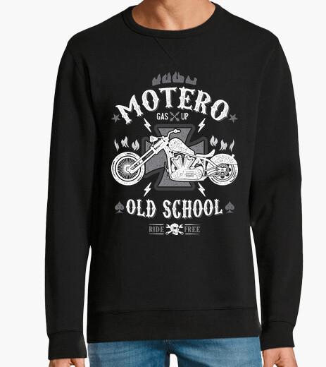 Sweat vieux motard