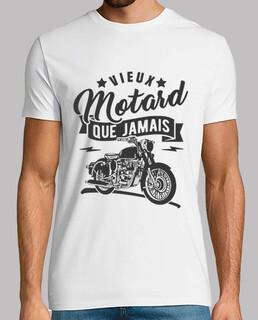Vieux motard que jamais