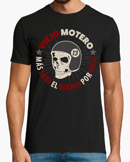 Tee-shirt vieux motero