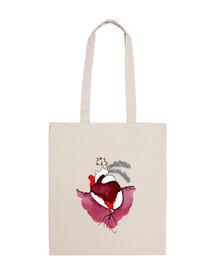 vieux sac de coeur