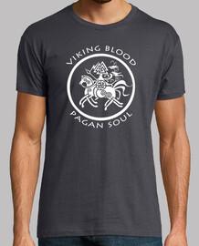 viking blood pagan soul t-shirt