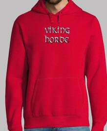 viking horde valknut sweat rouge