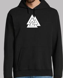 Viking metal sweatshirt, black