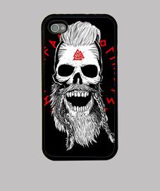 Viking Skull BW