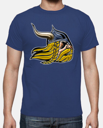 Camisetas Vikingo metalizado
