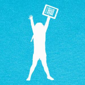 Camisetas La niña de la tablet