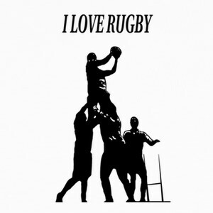 Camisetas I LOVE RUGBY
