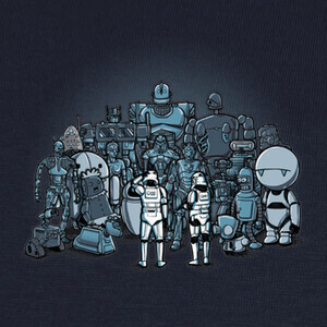 Camisetas These aren't the droids we are looking