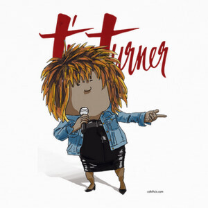 Camisetas Tina Turner by Calvichi's [WEB]