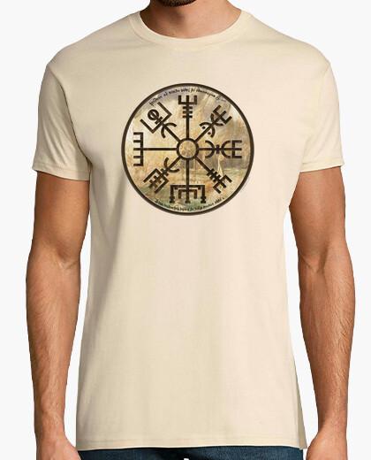 Tee-shirt vikings - vegvisir (viking compass)