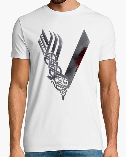Camiseta Vikings - Vikingos HD logo