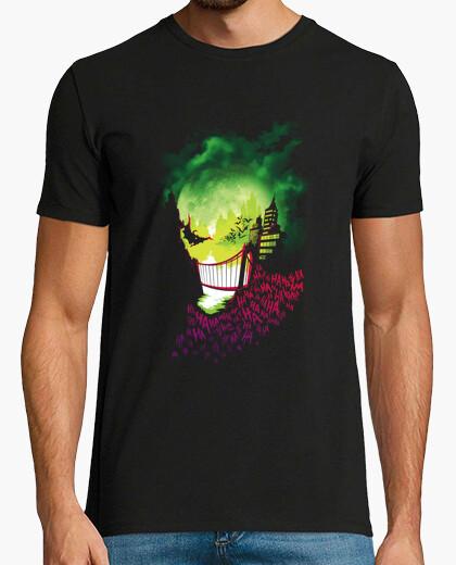 Tee-shirt ville de sourires
