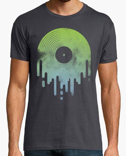 Camiseta Vinilo Chorreante verde