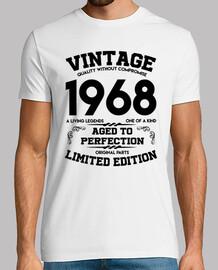vintage 1968 vieilli à la perfection original