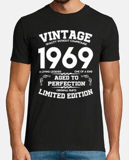 vintage 1969 invecchiato alla perfezione originale