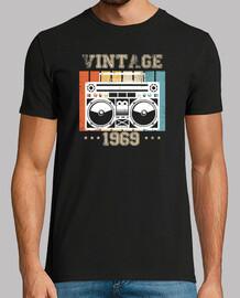 Vintage 1969 Music Tape 50 tacos