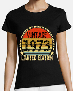 Vintage 1973 Limited Edition 48  Years