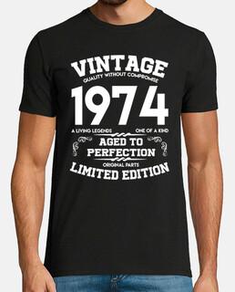vintage 1974 invecchiato alla perfezione originale