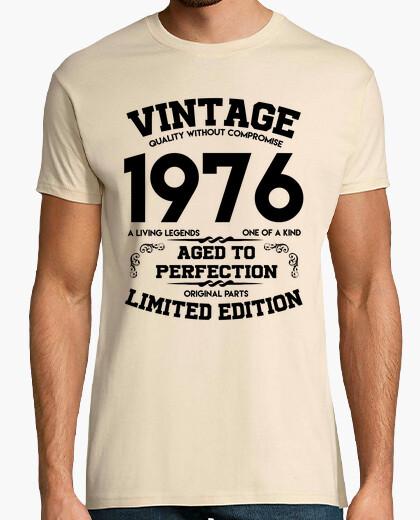 T-shirt vintage 1976 invecchiato alla perfezione originale