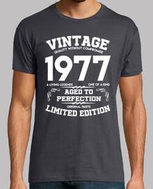 vintage 1977 vieilli à la perfection original