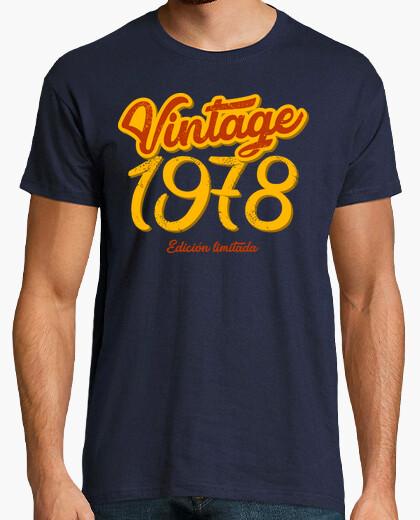 T-shirt vintage 1978, 41 anni