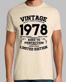 vintage 1978 invecchiato alla perfezione originale