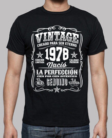 Vintage 1978 la perfección