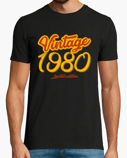 Camiseta Vintage 1980 Limited Edition
