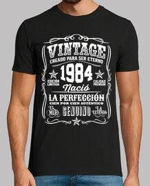 vintage 1984 34 anni compleanno 34 anni