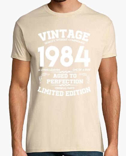 Camiseta vintage 1984 años a la perfección original