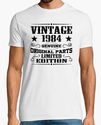 Camiseta vintage 1984 genuino piezas originales limi