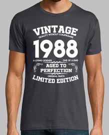 vintage 1988 vieilli à la perfection original
