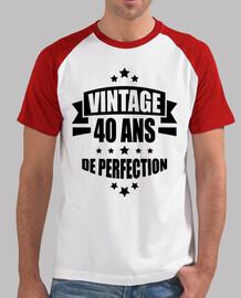 vintage 40 anni di perfezione
