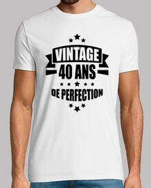 vintage 40 ans de perfection