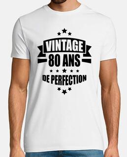 vintage 80 años de perfección