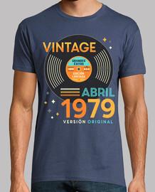VINTAGE Abril 1979