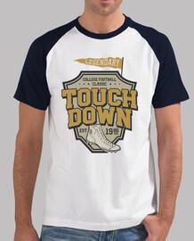 vintage american football t shirt 1986