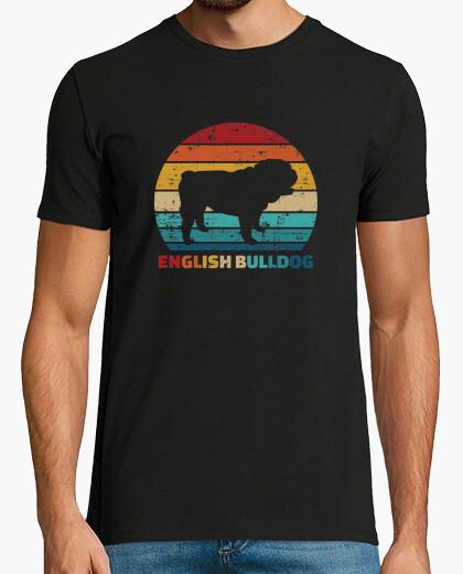 Camiseta vintage bulldog inglés