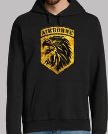 Vintage Emblem Airborne