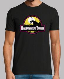 Vintage halloween town